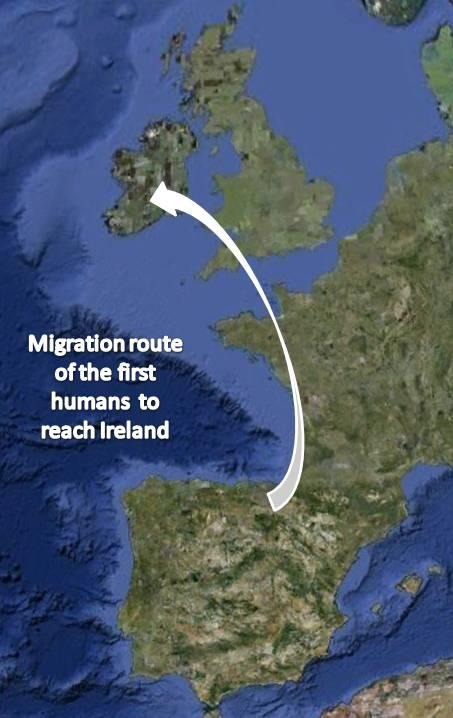 Map Of Ireland 600 Ad.Irish History Irish Origenes Use Family Tree Dna To Discover Your