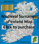 irish surnames map