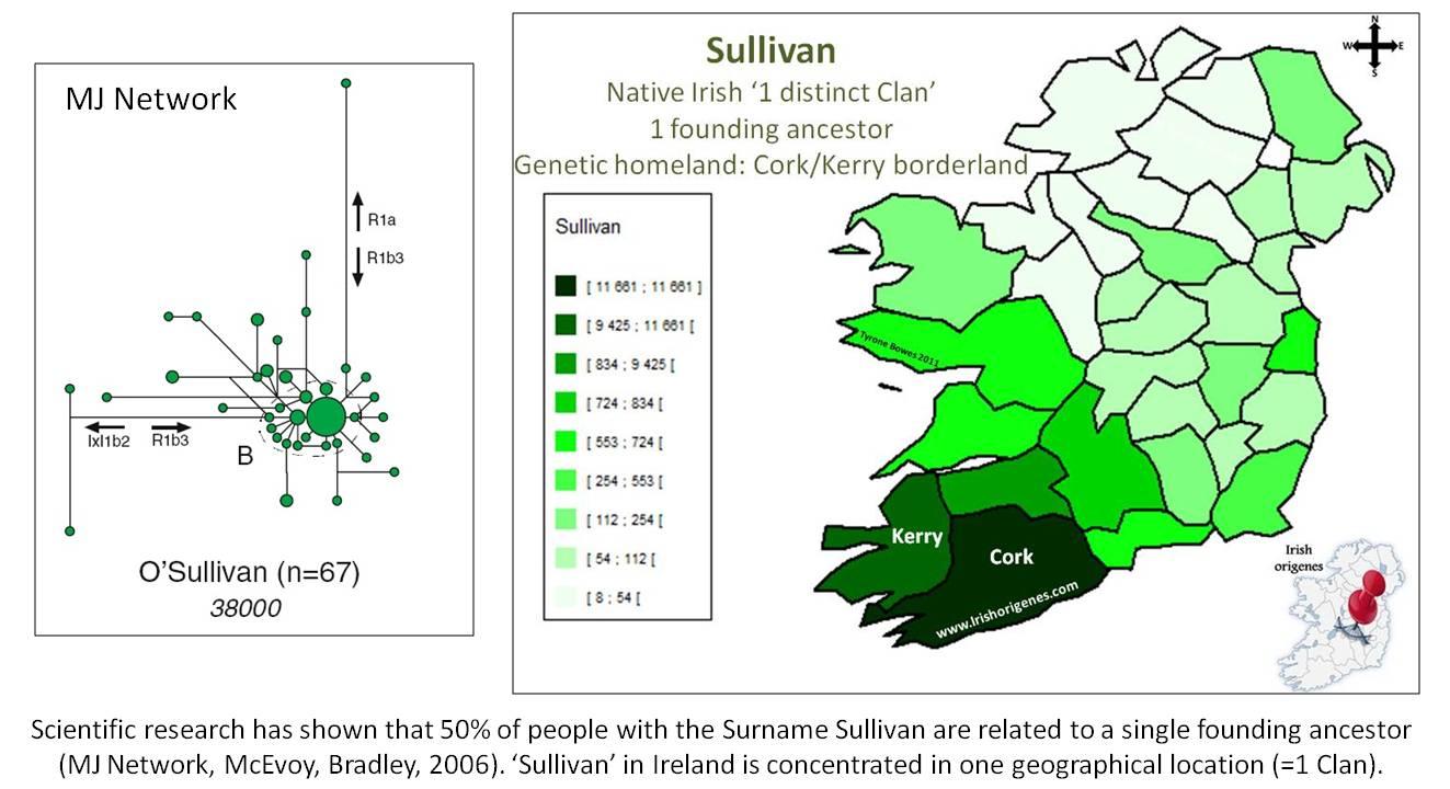Surnames Database   Irish Origenes: Use Family Tree DNA to