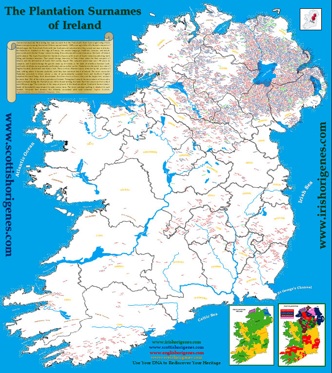 Map Of Ireland 500 Ad.Blog Irish Origenes Use Family Tree Dna To Discover Your Genetic