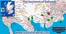 The Surnames of Galloway in Southwest Scotland