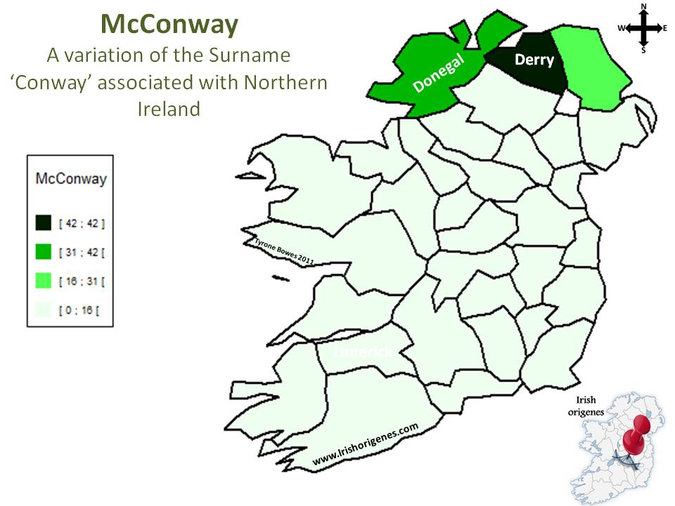 Conway'Mc | Irish Origenes: Use Family Tree DNA to Discover Your