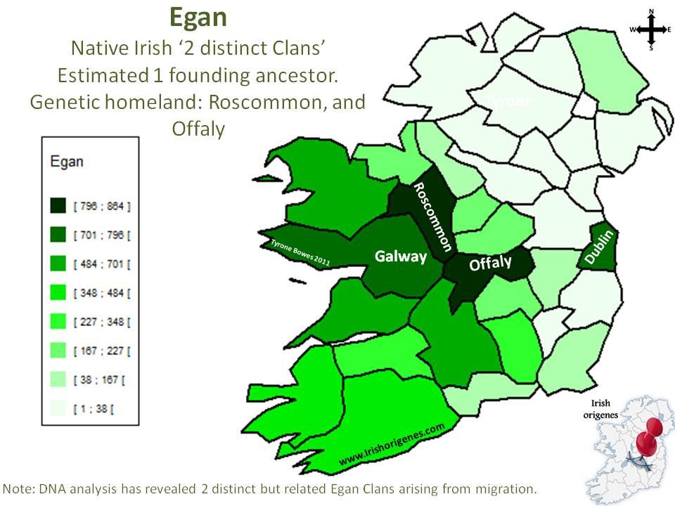 Egan   Irish Origenes:...
