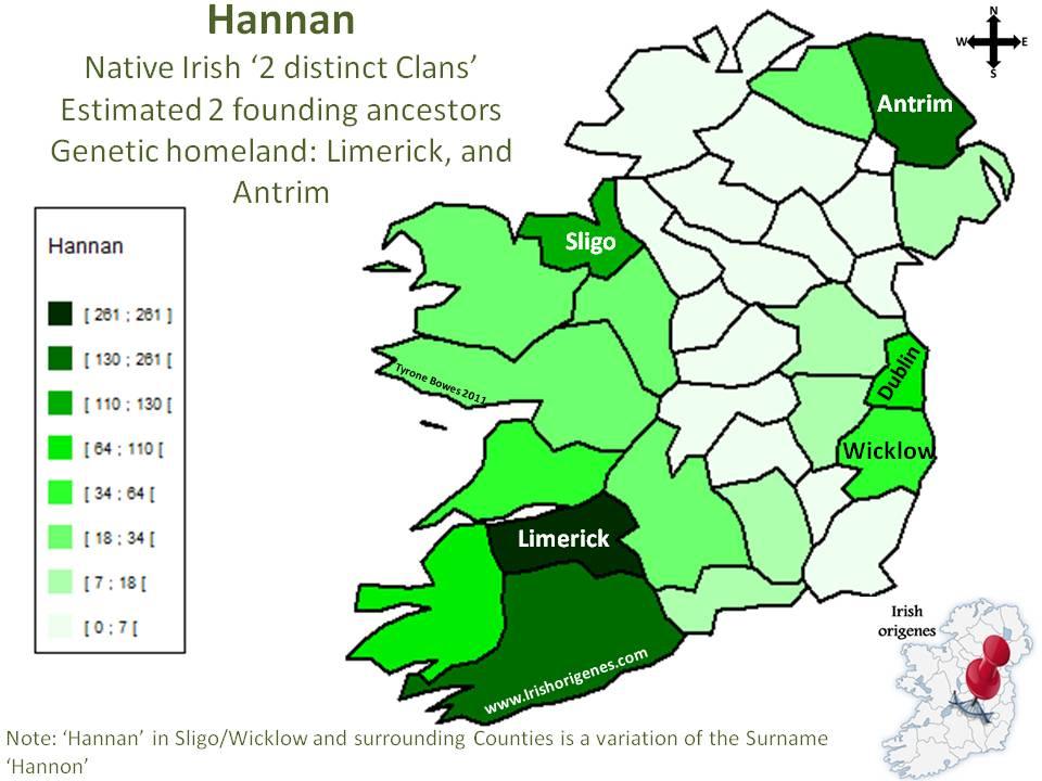 Hannan   Irish Origenes: Use Family Tree DNA to Discover ...
