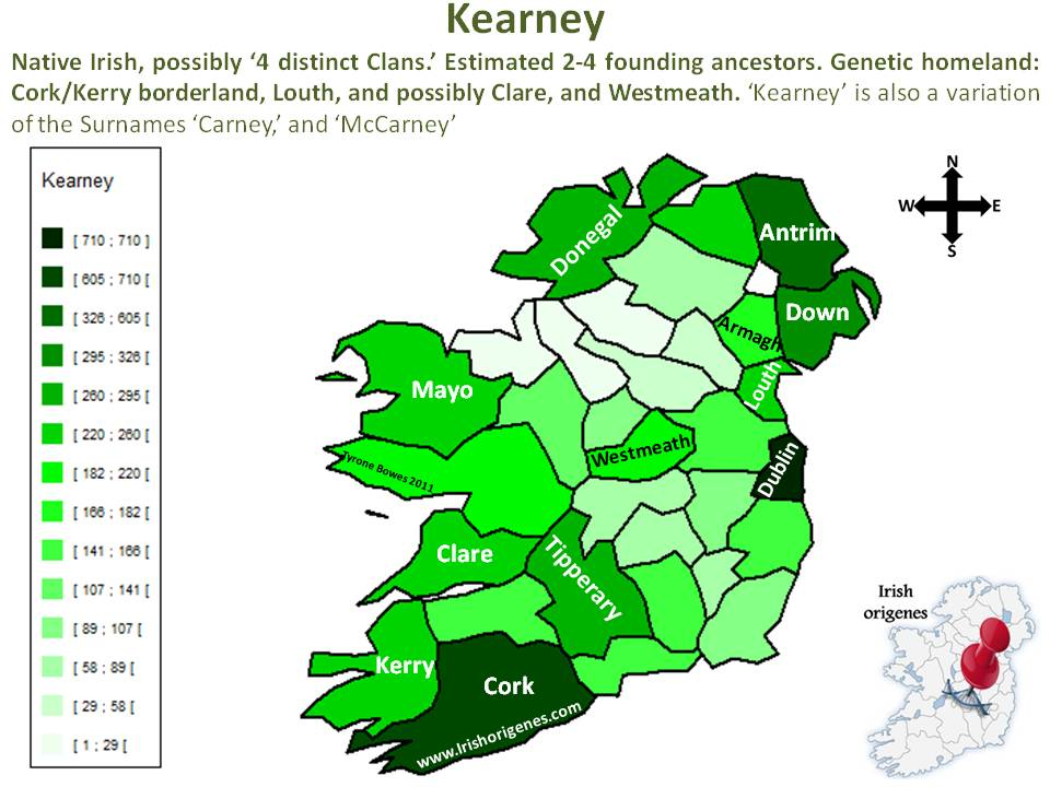 Kearney Irish Origenes Use Family Tree DNA to Discover Your
